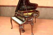 "Madeline Rose Piano MUSEUM QUALITY DOLLHOUSE FURNITURE 1/12 or 1"" Scale BESPAQ"