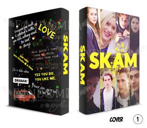 Skam Hardcover Sketchbook Notebook copybook Blank pages A5/A6