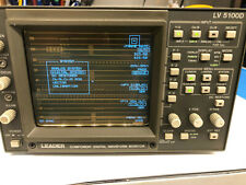 Leader LV 5100D Component Digital Waveform Monitor