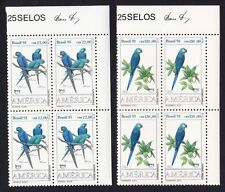 Birds Mint Never Hinged/MNH Stamp Blocks
