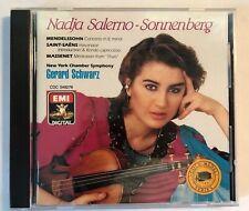 Nadja Salerno-Sonnenberg Plays Mendelssohn/Saint-Saëns/Massenet(CD, 1988, ANGEL)