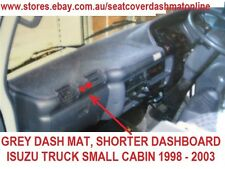 DASH MAT, DASHMAT, DASHBOARD COVER FIT ISUZU NKR 200 1995 -03, GREY, SMALL CABIN