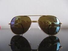 Auténtico Vintage TIFFANY CARTIER BUGATTI T369 23K Gafas De Sol De Oro