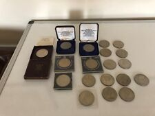 19 COINS FROM SILVER JUBILEE, CHURCHILL, CHARLES & DIANA, FESTIVAL OF BRITAIN
