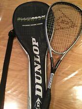 Dunlop BlackMax Titanium Squash Racket With Carry Case
