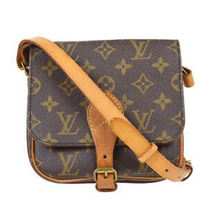 LOUIS VUITTON CARTOUCHIERE PM CROSS BODY SHOULDER BAG PURSE M51254 SL0940 91846