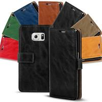 Samsung Galaxy S6 Edge Plus Shockproof Wallet Book Case Cover PU Leather Flip