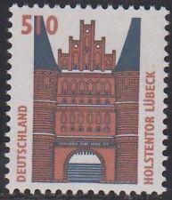 Germany**LUBECK-HOLSTENTOR-5,10 DM-Mi 1938-Postprice-1997-POSTPRIJS-FACIALE-MNH