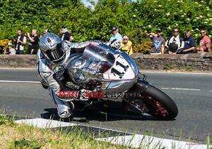 Josh Brookes  Norton  2018 Isle of Man  TT A4 size photo