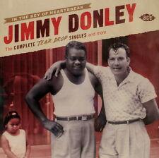 JIMMY DONLEY 'The Complete TEAR DROP Singles' - 2CD Set on ACE