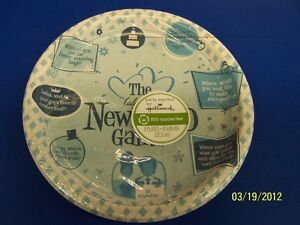 """The (Almost) Newlywed Game Bridal Shower Wedding Party 9"""" Paper Dinner Plates"""