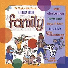 Celebration of Family SONGS NEW! CD, CHILDRENS,Raffi, John  Lennon, Faith Hill
