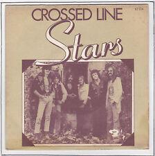 """STARS Vinyle 45 tours 7"""" SP CROSSED LINE F Reduit  RARE"""