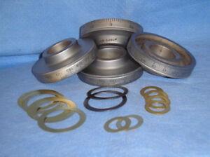 BRIDGEPORT MILL PART, milling machine DIAL SET M1231 2060083 M1169 SHIMS NEW!