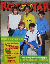ROCKSTAR 42 1984 Duran Duran Doors Clarence Clemmons Little Steven Saga