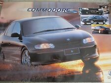 HOLDEN COMMODORE VX  S LARGE DEALER POSTER   1000X 690