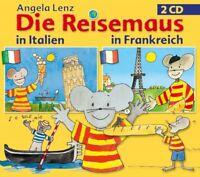 ANGELA LENZ - DIE REISEMAUS: ITALIEN & FRANKREICH (2XCD) 2 CD NEW