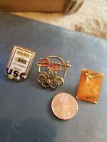 1984 Los Angeles Olympics  Lapel Hat Pin Pinback Badge Olympic lot 3