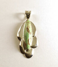 MINE FINDS by JAY KING Australian Variscite Pendant, Sterling Silver