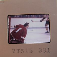 ROGER CROZIER Detroit Red Wings Buffalo Sabres Capitals ORIGINAL SLIDE 21