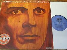 DCA 504 Bartok String Quartets Nos. 5 & 6 / Lindsay Quartet