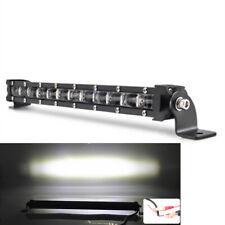 34cm 120W Flood LED Work Light Bar Post Car SUV Off Road Roof Driving Fog Lamp