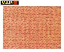 """Faller N 222568 Mauerplatte """"Backstein"""" (1m² - 57,28€) - NEU"""