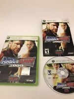 WWE SmackDown vs Raw 2009 Featuring ECW 2K9 09 Xbox 360 Wrestling Game Complete