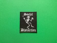 HEAVY METAL PUNK ROCK MUSIC FESTIVAL SEW ON / IRON ON PATCH:- SOCIAL DISTORTION