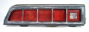1970 FORD ORIGINAL OEM TORINO 70 FE TAIL BACK UP LIGHT LENS BUCKET ASSEMBLY LH