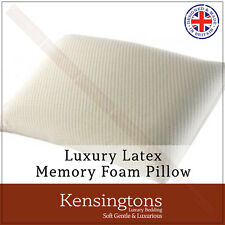 Kensingtons® Memory Foam Pillow Orthopaedic Bamboo Cover Head Neck Support Pack