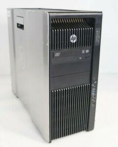 HP Z820 Workstation Intel E5-2670 2.6GHz 32GB DDR3 500GB HDD V7900 WIN7COA No OS