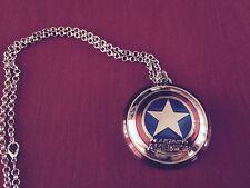CC-002 Colgante Rép Escudo Capitán América Pendant Captain America Shield Marvel