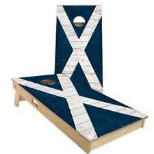Scotland Flag Cornhole Boards - 2 Sizes + Many Options Available