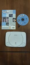 Ps One - PlayStation 1 Slim Console + Raiden Project Disc and Back Cover Art