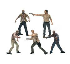 McFarlane Toys Building Sets AMC THE WALKING DEAD 5 FIGURE PACK #14521 ~NEW~