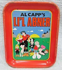 Old 1990 Al Capp's Li'l Abner Comic Strip Cartoon Animation Serving Tray FREE SH