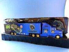 Thunderbat transporter with 1er stock car 1/64 - Racing champions - Edition 1995