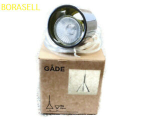 New IKEA GADE Hanging Halogen Lamp with Bulb Green