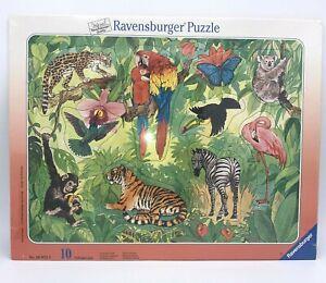1998 Ravensburger Spieleverlag Preschool Children's 10 Pc Puzzle. Sealed.