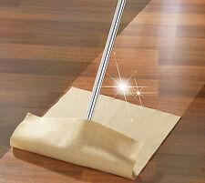 Wenko 2 Stück Parkett & Laminat Pflegetuch Diamond-Clean aus Polyester 50x36cm
