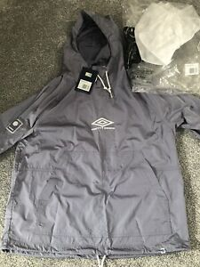 pretty green x umbro Hooded Drill Top