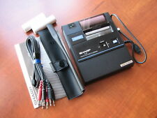 NEW NOS rare SHARP CE-50P pocket computer calculator printer cassette interface