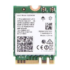 New Intel 8265NGW Wireless-AC 8265 NGFF 867Mbps Wlan 802.11ac WiFi Bluetooth 4.2