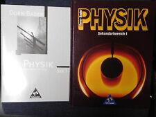 Dorn Bader Physik SI 3-507-86272-7 Gymnasium Buch + Lösungsheft gut fürNachhilfe