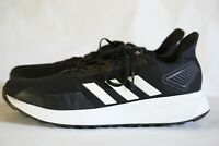 Adidas Men's Duramo 9 Running Shoes, Sneakers, Size 8.5, Black and White
