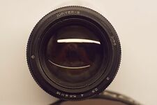 jupiter 9 85mm f/2.0 M42 lens made in USSR