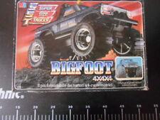 ☆˚。Bigfoot SST 4x4x4 Super Size Truck Rare MB Playskool Monster Vintage  。˚☆