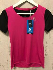Odlo Laufshirt Mod. Crown Lo pink schwarz NEU m. Etikett versch. Grössen