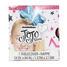 JoJo Siwa Plastic Table Cover Birthday Party Supplies ~ Decoration Power Girl